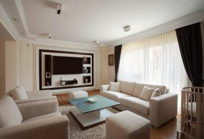 Как сделать стеновую нишу под телевизор?