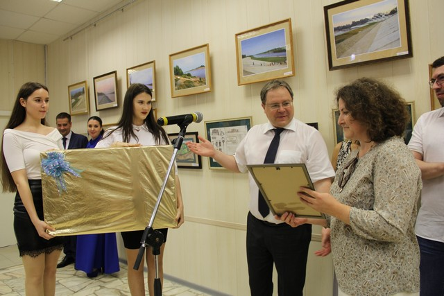 В Сыктывкаре наградили победителей и призёров конкурса идей оформления набережной в Кировском парке